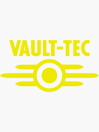 Vault Tec Stickers Redbubble