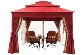 archer ridge 10x12 ft red gazebo canopy