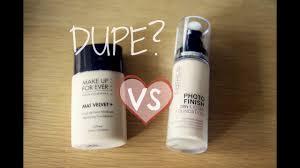 makeup forever hd foundation dupe makeup