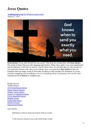 jesus quotes by sruthanquotes issuu