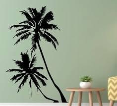 23 X37 Palm Tree Vinyl Wall Decal Summer Sun Wall Sticker Home Decor Bedroom Ca Ebay