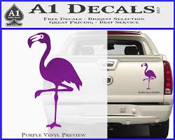 Flamingo Decal Sticker D2 A1 Decals