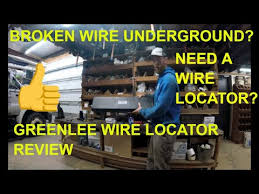 Best Wire Locator Tool Wire Break Locator In 2019 Greenlee Wire Locator Tool Review Youtube