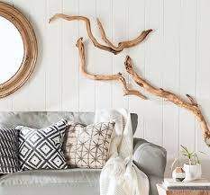 large drift wood wall art sculptures
