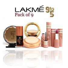 pack of 9 lakme 9to5 code pb 729