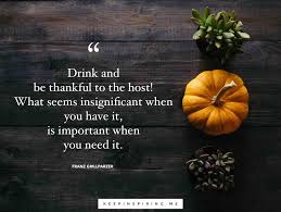 thanksgiving quotes to make you feel thankful