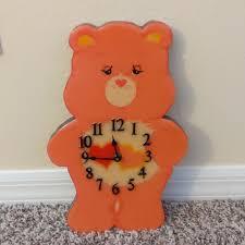 Care Bears Wall Art Vintage Wall Clock Poshmark