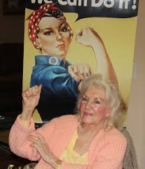 Naomi Parker Fraley, the Real Rosie the Riveter, Dies at 96 - The New York  Times