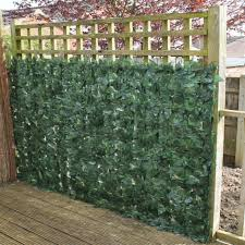 Artificial Ivy Hedge Fencing Indoor Outdoor Faux Leaf Privacy Fence Screen Decoration Panels 1 5m X 3m
