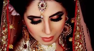 indian wedding eye makeup for bride