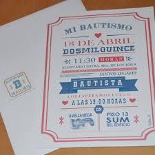 Invitaciones Tarjetas Bautismo Primer Ano Cumpleanos 12 99