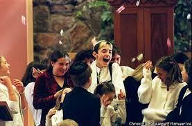 7th graders give bar mitzvah