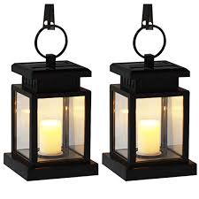 2019 led solar lantern candle lights