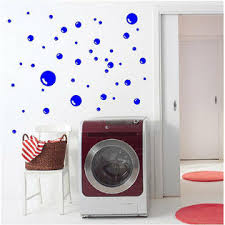 Eye Candy Signs Bubble Decal Removable Bubble Wall Stickers Bath Decal Bathroom Wall Art Diy