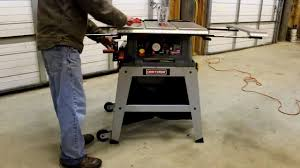 Craftsman Evolv Table Saw Review