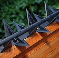 Stegastrip Fence Wall Spikes Garden Security Intruder Deterrent Anti Climb 10m Amazon Co Uk Business Industry Science
