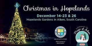 hopelands gardens city of aiken sc