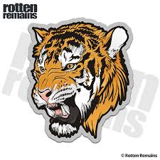 Tiger Decal Cat Bengal Siberian Car Truck Vinyl Sticker Lh V2 Rotten Remains High Quality Stickers Decals