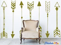 Decorative Tribal Arrows Wall Decals Graphic Vinyl Sticker Bedroom Living Room Wall Home Decor
