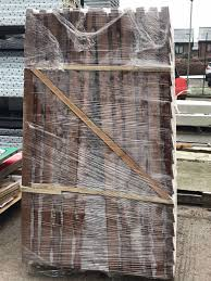 Cocklestorm Fencing On Twitter A Pallet Of Double Sided Featheredge Fence Panels Recently Packed And Dispatched To Henlow In Bedfordshire These Particular Ones Have Been Treated In Our Summer Tan Preservative To