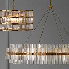 phoebe 48 led round crystal antique