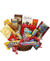 candy bouquet gift basket in ottawa on