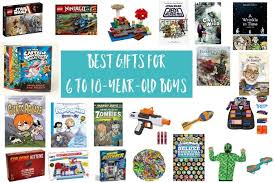 best gifts for 6 to 10 year old boys