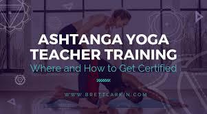 ashtanga yoga teacher certification