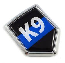 Police K9 Blue Line Flag Car Auto Emblem 3d Decal Bumper Badge Sticker Ebay
