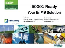 50001 Ready Your EnMS Solution - ppt download