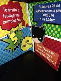 Invitaciones Originales Cumpleanos De Batman Cars Y Gotcha