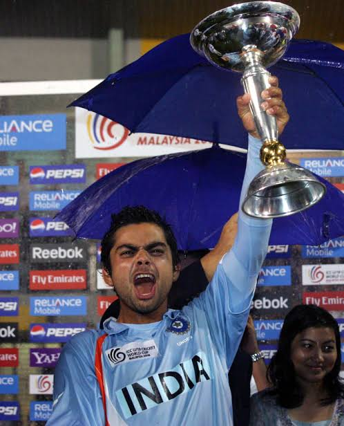 Image result for virat kohli under 19 world cup""