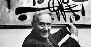 Künstler Joan Miró aus Barcelona