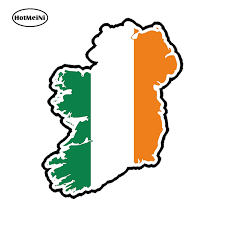Hotmeini Car Sticker 3d Ireland Eire Flag Map Country Car Styling Bumper Waterproof Windows Accessories 13x 10 4cm Car Stickers Aliexpress