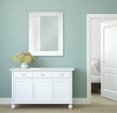 bathroom mirror for wall beveled frame