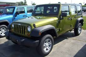 rescue green 2010 jeep paint cross