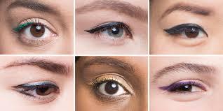 winged eyeliner for every eye shape