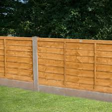 Forest Trade Lap Fence Panels