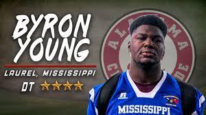 Alabama Signee: Byron Young - YouTube