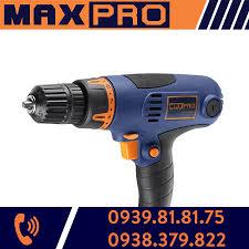 Máy khoan điện Maxpro MPED320VUF, 320W, Giá tháng 9/2020