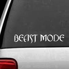 Beast Mode 4x4 Truck Racing Jdm Muscle Car Decal Window Vinyl Sticker Art Painting Car Stickers Vinyl Decor Decals Car Stickers Aliexpress