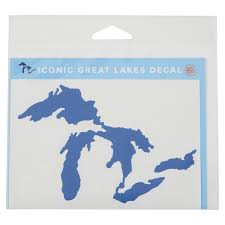 Great Lakes Decal Blue 1 Ct Interior Car Accessories Meijer Grocery Pharmacy Home More
