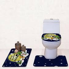 bath mat toilet lid top tank cover