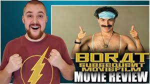 Borat Subsequent Moviefilm Movie Review ...