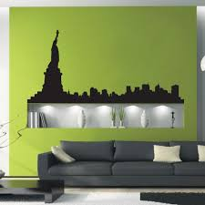 New York Skyline Wall Decals The Decal Guru