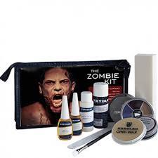 kryolan zombie kit makeup