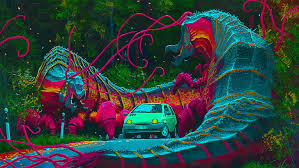 hd wallpaper psychedelic trippy
