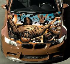 Vinyl Car Hood Wrap Full Color Graphics Decal Mad Max Fury Road Custom Sticker Ebay
