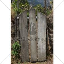 Wooden Gate In A Fence Gl Stock Images