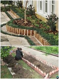 brick border garden edging 20